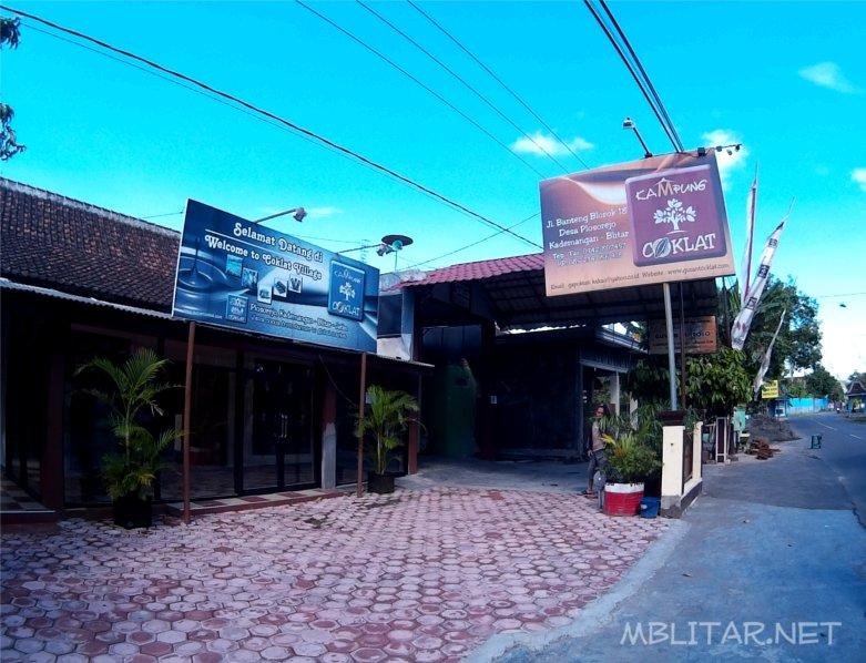 wisata kampung coklat Blitar